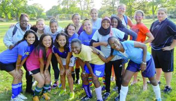 Blue Angels soccer team