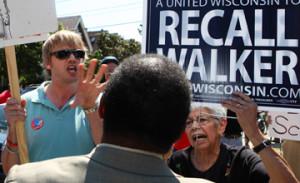 Recall Gov. Walker Protest