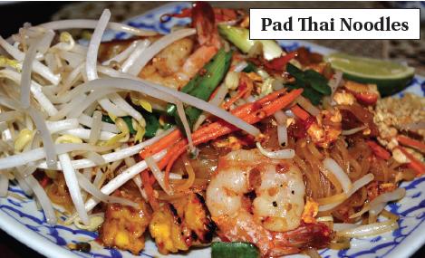 CRISTINA DE LA TORREPad Thai noodles make a delicious option. Pad Thai ...