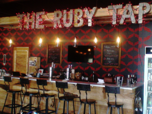 Wine-ing allowed at The Ruby Tap