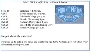 Soccer Schedule 2013