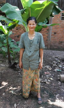 one woman from Cambodia who is part of Kiva