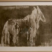 In the Field - collagraph