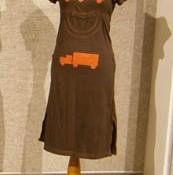 Brown Truck Dress